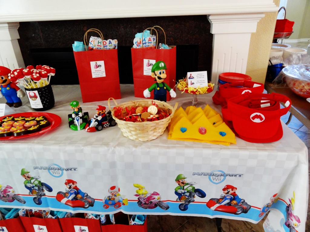 Real Event: A Mario Kart Birthday Party