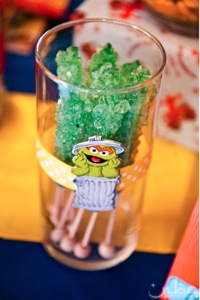 Oscar the grouch candy