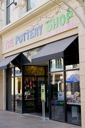 Pottery shop in Vegas
