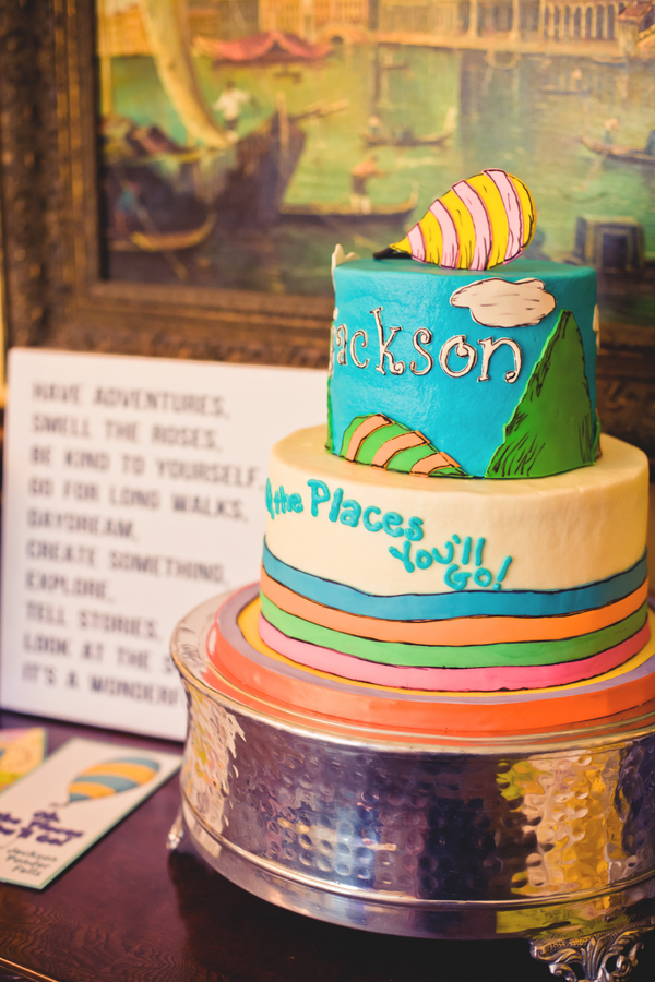 Oh The Places You Ll Go Themed Baptism Party