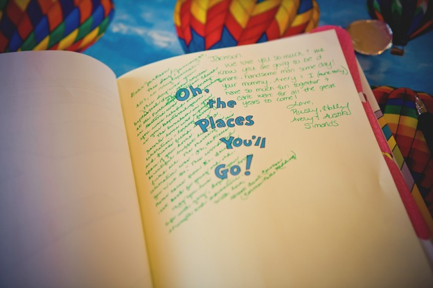 Oh the Places You'll Go signed copy