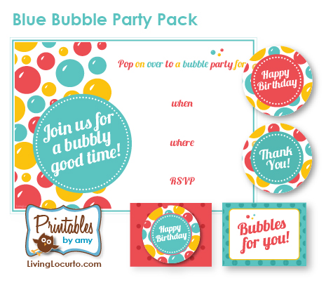 Bubble theme party ideas a bubble party filmwisefo