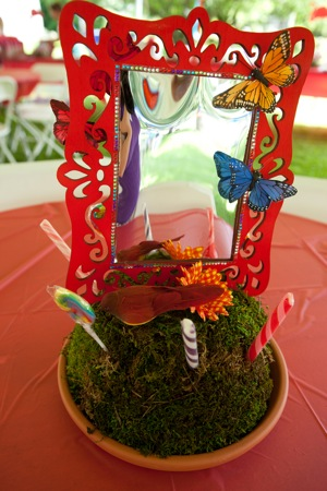 tea party theme decoration