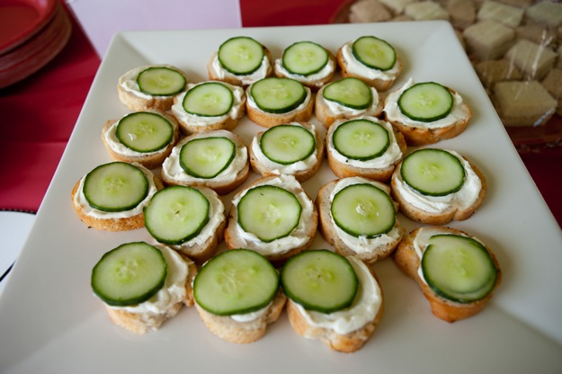 tea party sandwiches