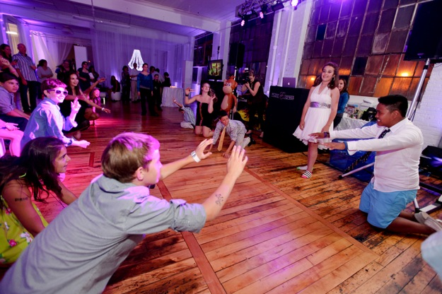 bat mitzvah dancing