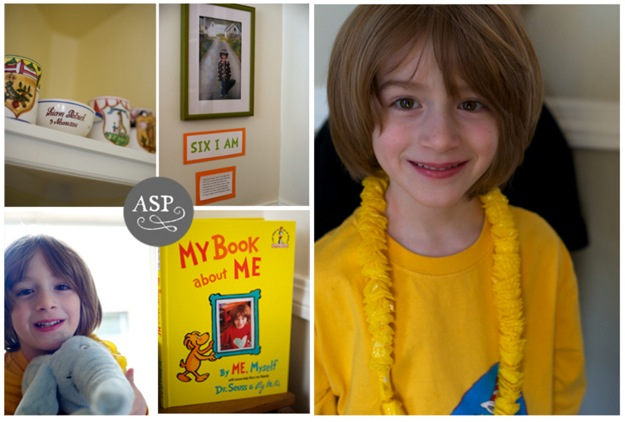 Dr Seuss birthday for six year old boy