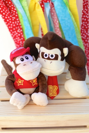 stuffed animals donkey kong