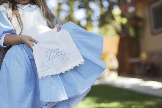 costume of Alice in Wonderland