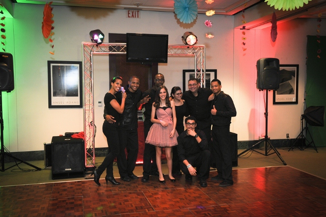 band with bat mitzvah girl