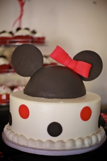 birthday cake minnie mouse