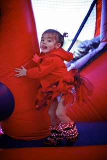 bounce house Minnie Mouse