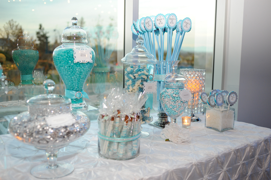 About hawaiian centerpieces on pinterest party decoration picture - Tiffany Themed Sweet 16