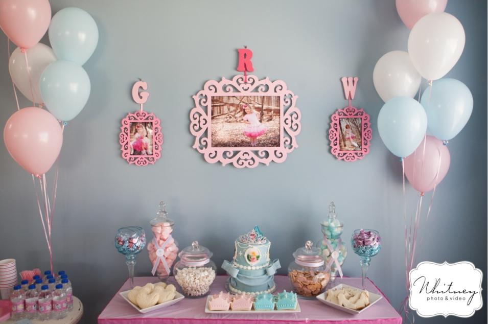 Pink Amp Blue Princess Party