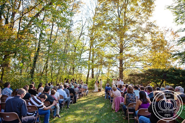 outdoor casual wedding
