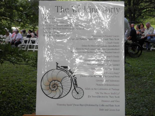nautilus theme ceremony sign