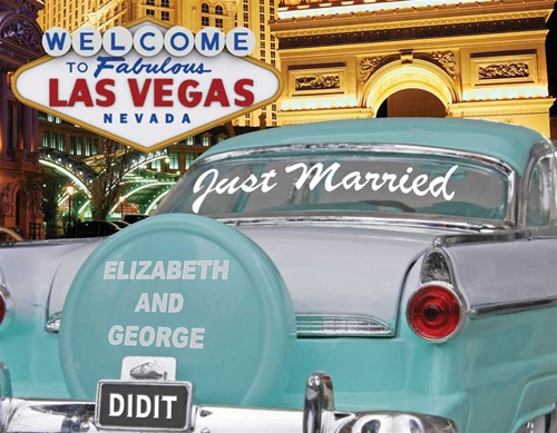 Las Vegas married announcement
