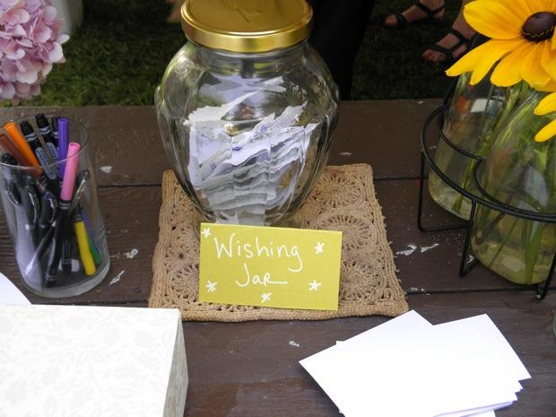 wedding wishing jar