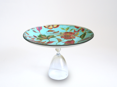cake stand with fall theme