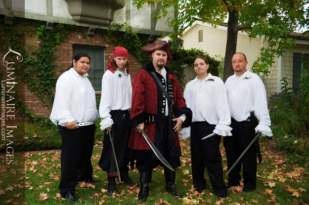 pirate outfits for groomsmen