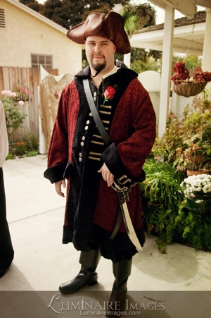 pirate groom