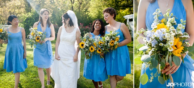 vintage bridal dress blue bridesmaid dresses