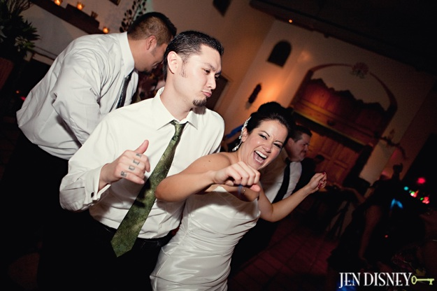 couple dances at wedding