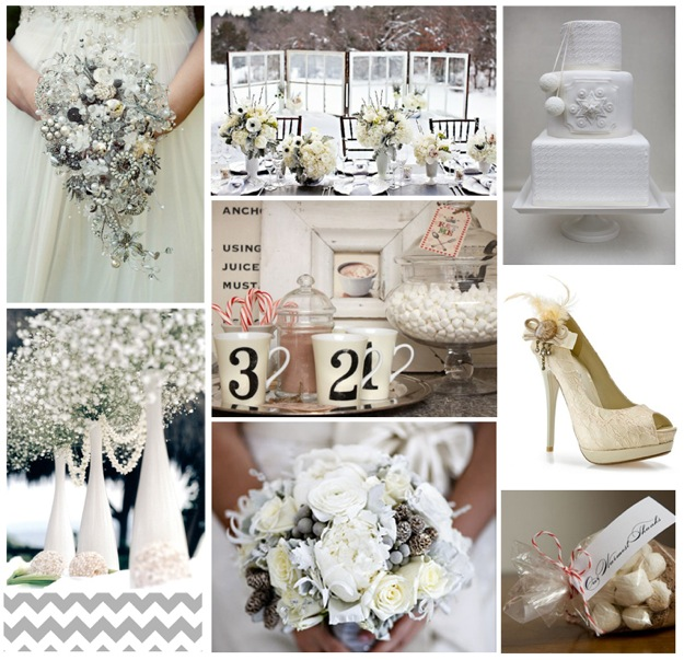 white inspiration board