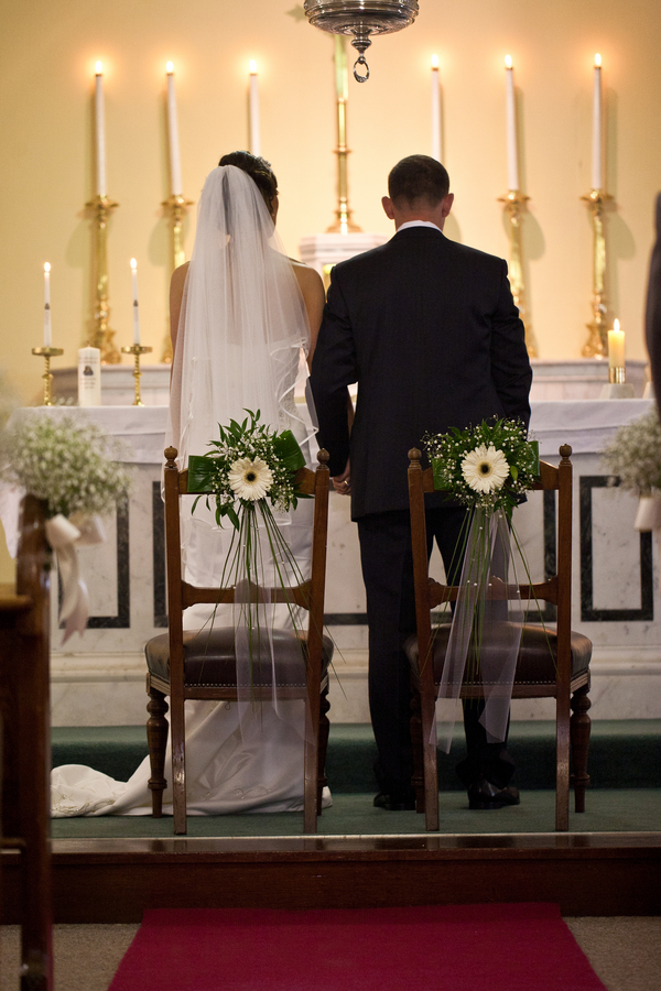 wedding altar with special chairs