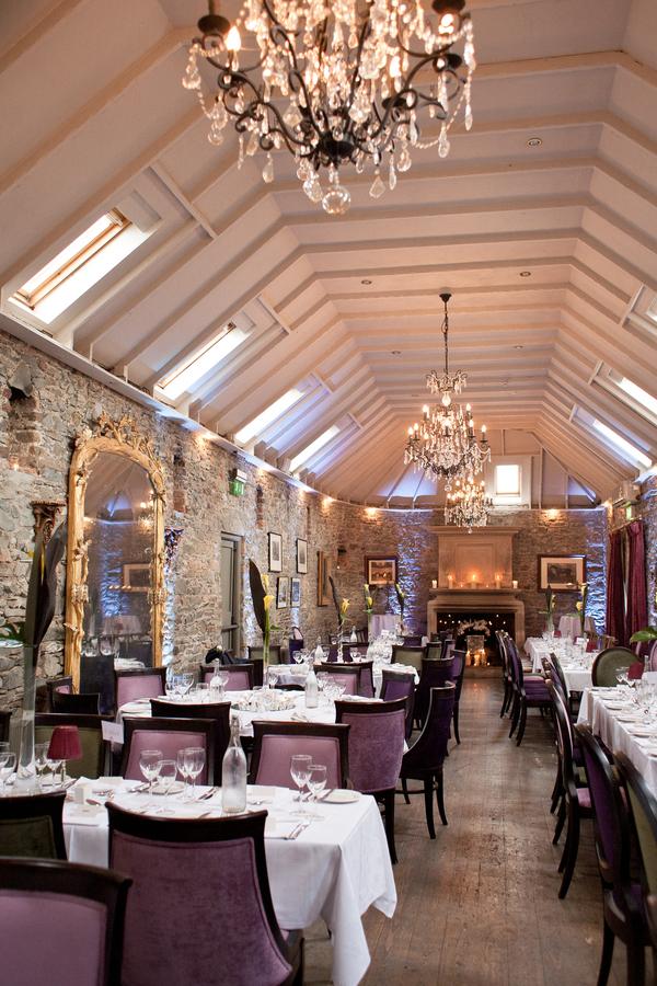 rustic wedding decor restaurant