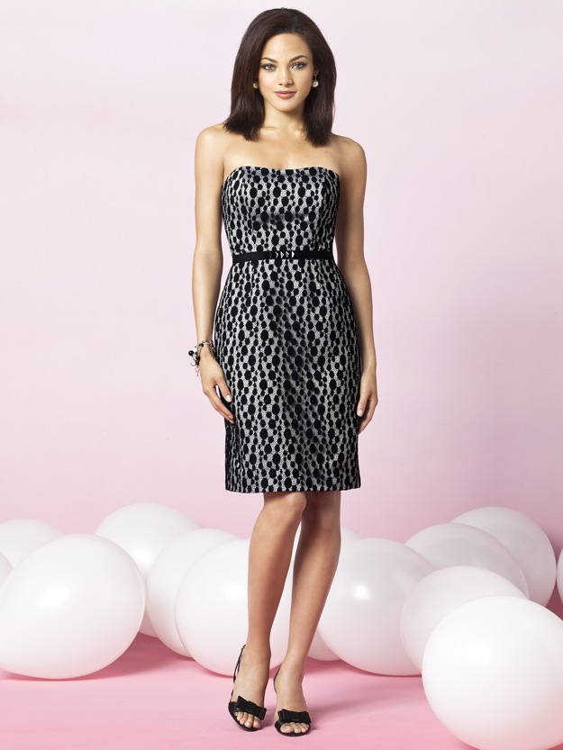 bridesmaid dress short, print