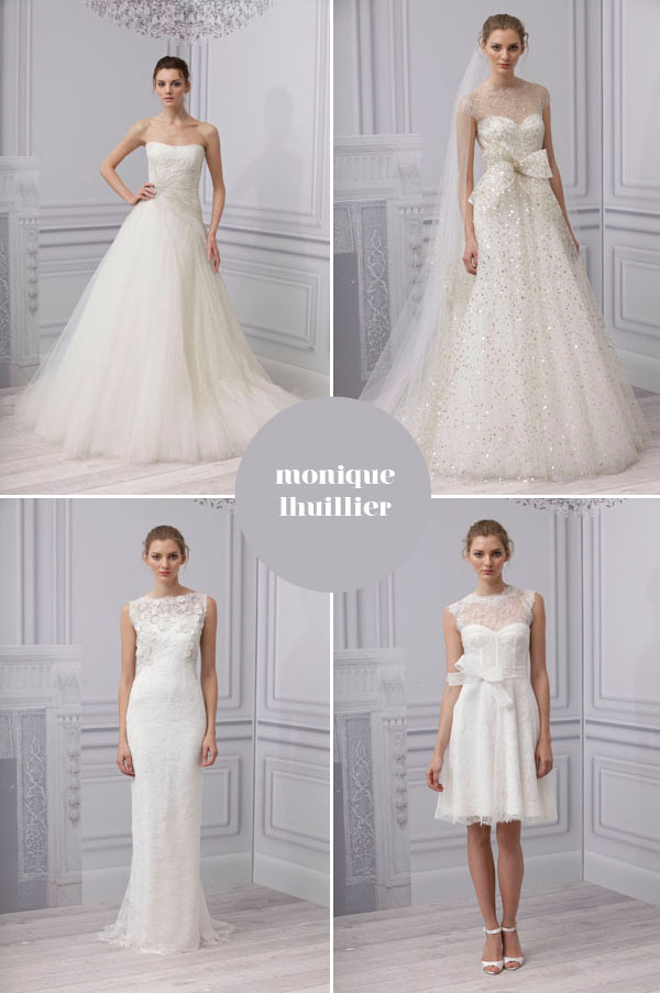 wedding dress collection monique luhillier