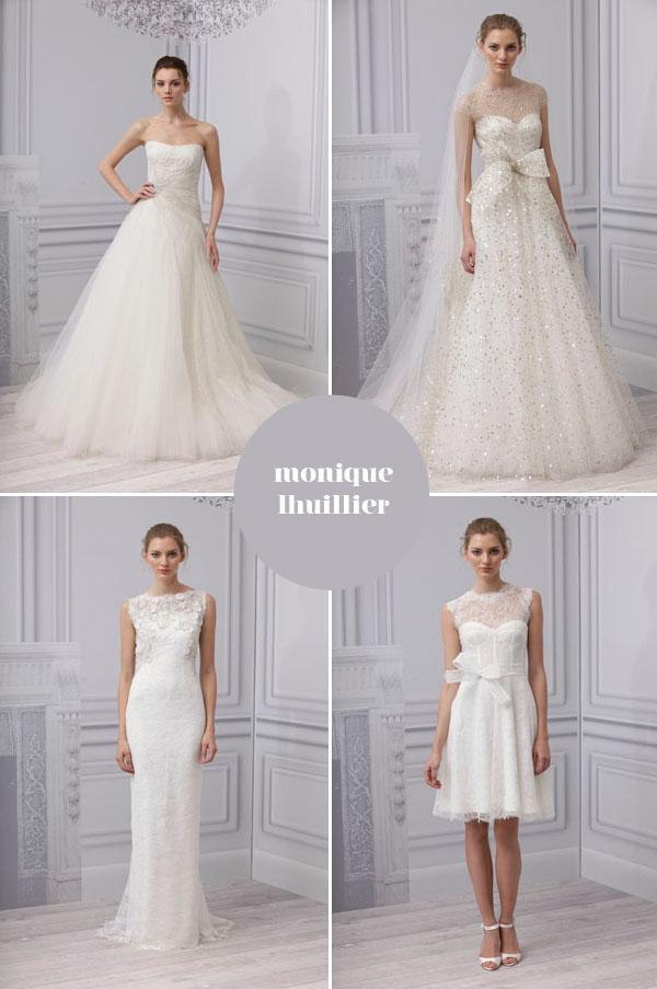 wedding dress collection monique luhillier