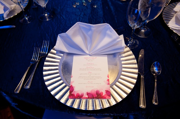 ocean themed tablescape