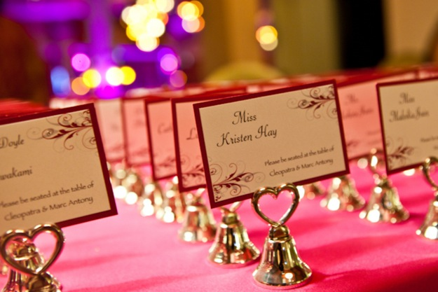 fun table name escort cards