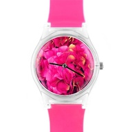 photo watch in pink