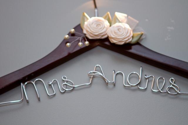 hanger for wedding dress