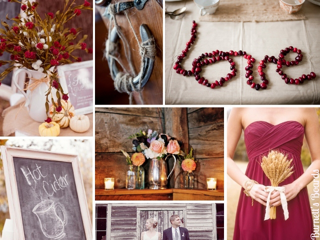 cranberry and wheat inspiration board