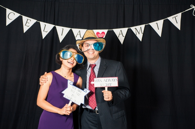 Wedding DIY photo booth
