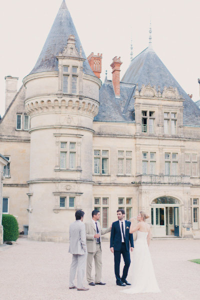 wedding at elegant castle