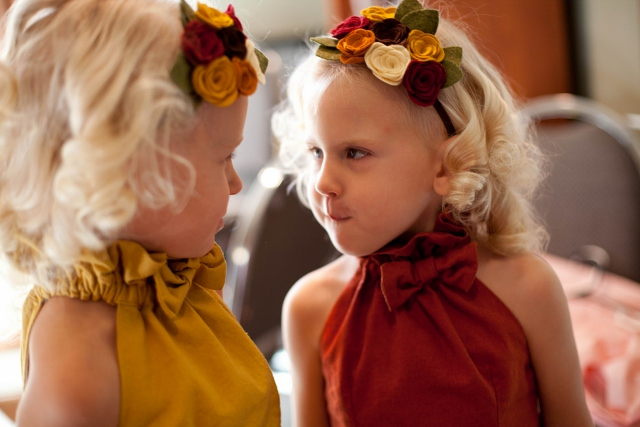 wedding flower girls