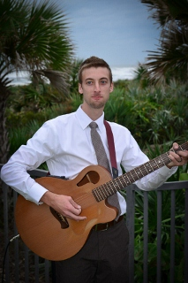 wedding with acoustic guitar
