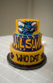 LSU groom cake