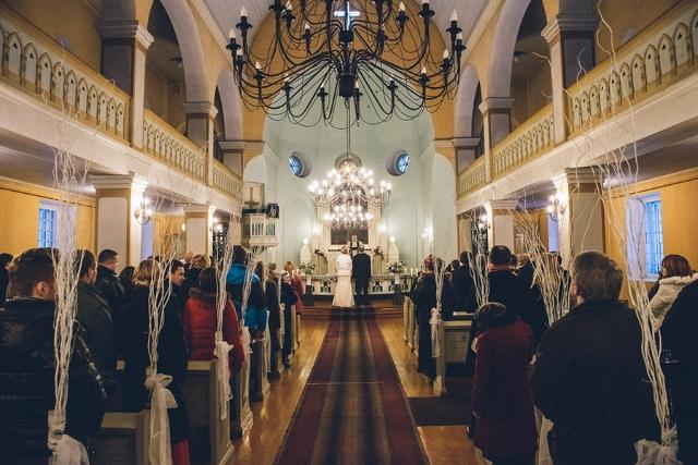 european church wedding ceremony