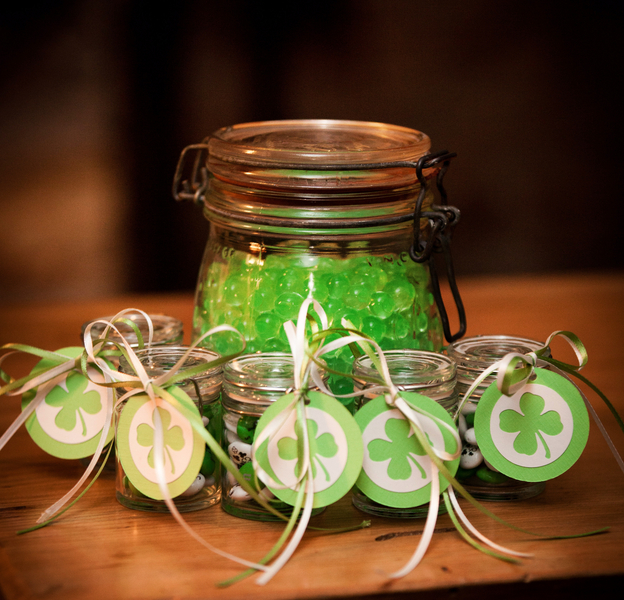 wedding favor st patricks day