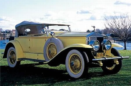 yellow rolls royce great gatsby