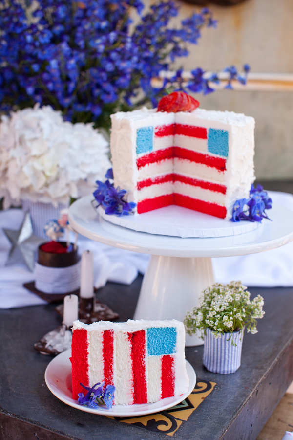 Patriotic Themed Wedding
