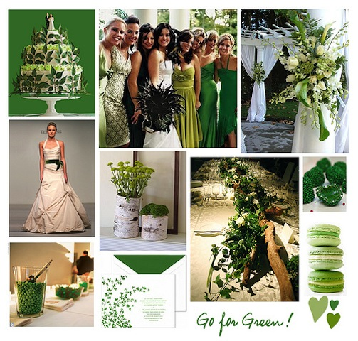 st patrick's wedding inspiration