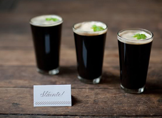 guiness at wedding