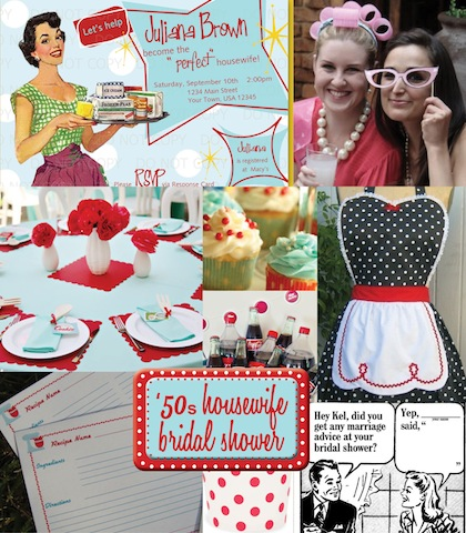 bridalshower retro