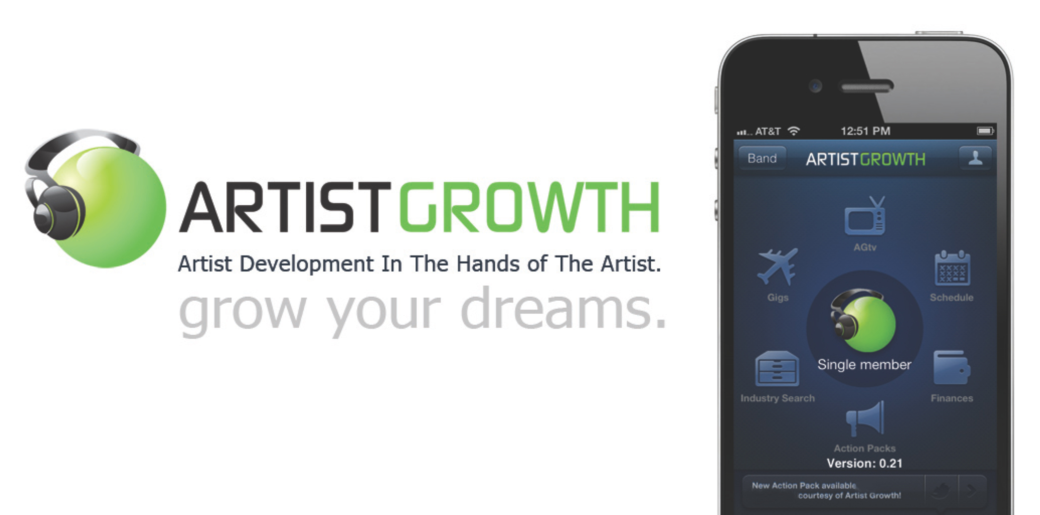 Artist Growth Screenshot